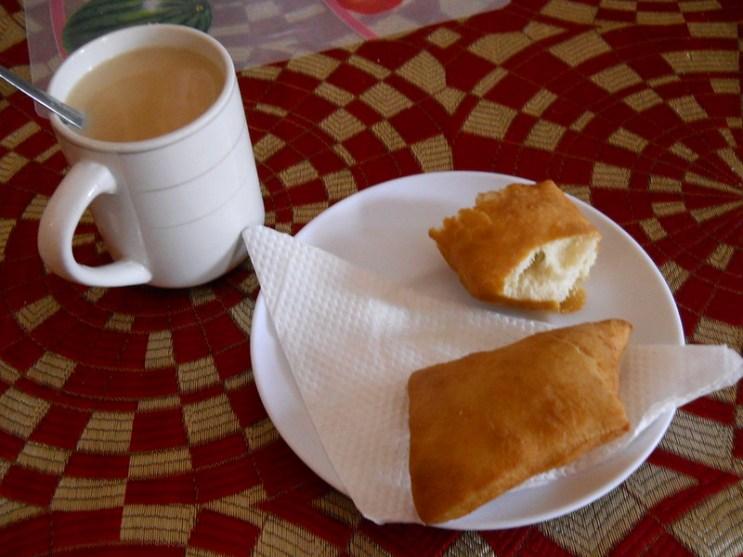 Chai Tea and Mandazi