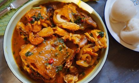 Ogbono soup