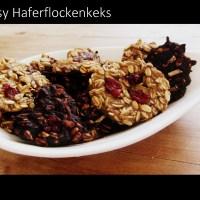 Der Easy Haferflockenkeks ohne Zucker *vegan
