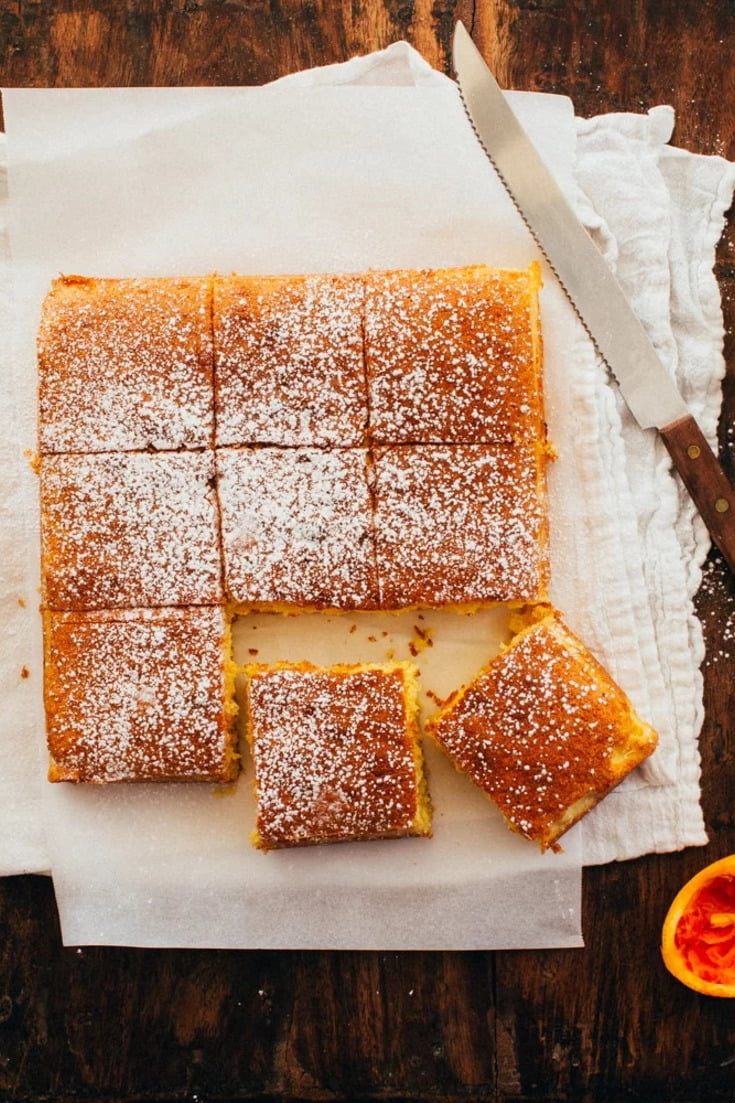 Portuguese Orange Cake Recipe Foodess Com