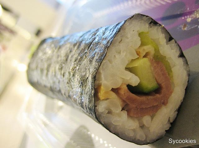 4.smoked duck @sushi Q