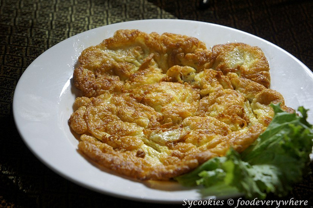 20.Thai Style Omelette rm 15 golden orchid (2)