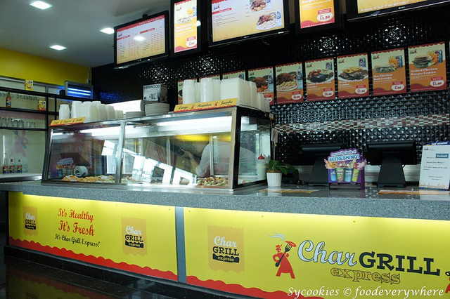 0. chargrill express