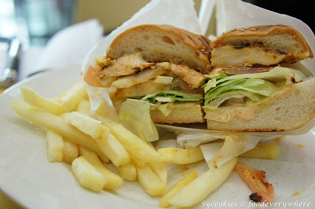 25.Grilled Chicken Burger-Marinated chicken breast on a bed of lettuce, tomato, onions, and cheese with chargrill's popular perinaise sauce-chargrill express (3)