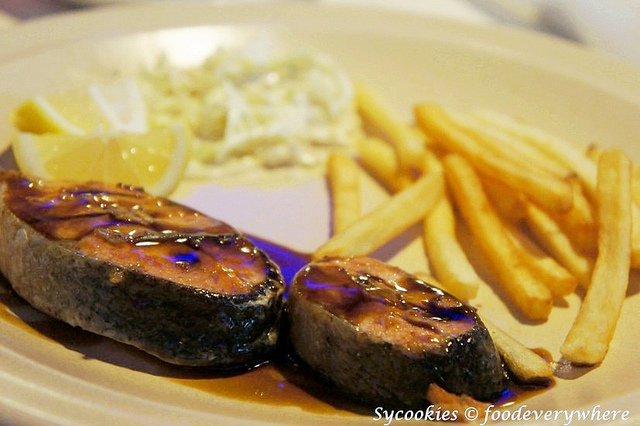 2.Salmon fish steak Rm 19.80  @ cafe one 6 Five (14)