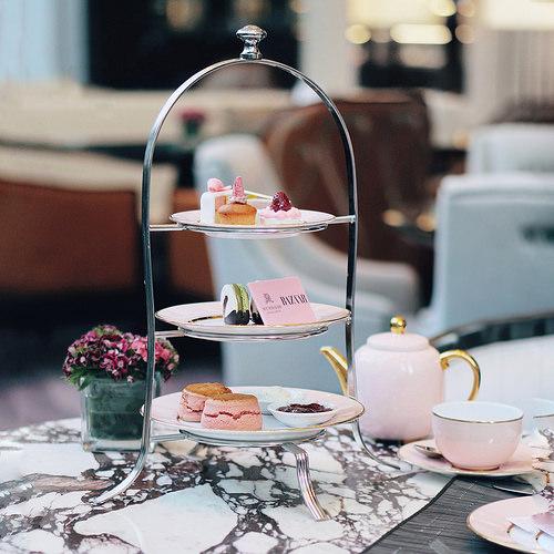 1.St. Regis, KL's pink high tea (#STREGISKLxBAZAAR)