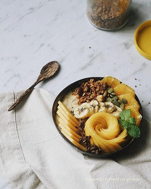 mango smoothie bowl (4)