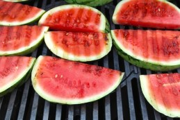 grilled melon