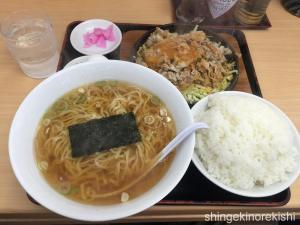 中野区大盛軒ビッグ鉄板麺10