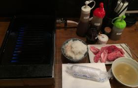 立ち食い焼肉神田江戸牛ランチ6