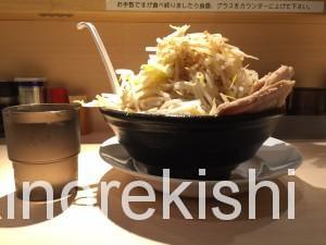 錦糸町麺屋三郎ラーメン豚麺特盛野菜大盛り9