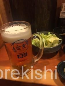鳥貴族浅草橋ビール金麦ジャンボ焼鳥キャベツおかわり自由釜飯21