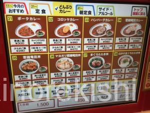 Sガストエスガスト神田駅東口店マヨガリ若鶏竜田丼カレー特盛大盛り17