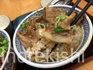 吉野家牛丼特盛ロース豚丼大盛り牛ねぎ玉丼11