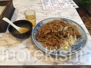 雁川がんせん秋葉原中華料理デカ盛り豚肉生姜焼きチャーハントリプル盛つけ麺どっかん盛12