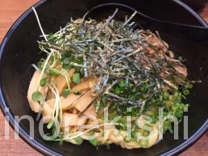 秋葉原すた丼油そば大盛り飯増し飯増量2