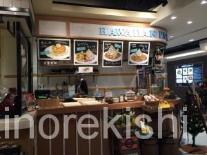 秋葉原ヨドバシAKIBAラーブフードマーケットハワイアンパンケーキメガ盛りフードコート5