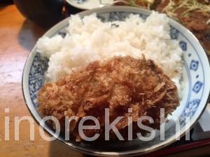 人形町デカ盛り三友爆弾カキフライ定食ランチ巨大ご飯大盛り牡蠣フライ行列16