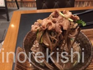永田町デカ盛りこく旨肉そば日の陣名物肉汁そば特盛りエチカフィットEchikafitかき揚げ構内20