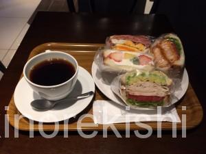 神谷町デカ盛り3206本店ボリューム満点サンドイッチデビルサンド人気有名カフェ朝食パンケーキ21