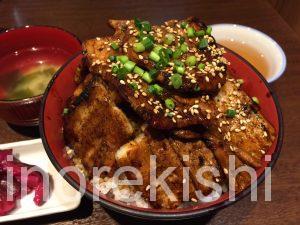 神田デカ盛りランチ魚串さくらさく炭火豚丼ご飯特盛肉増し居酒屋2