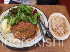 神田土日ランチ熟成肉レストランBrookKitchenブルックキッチンディナー牛ハラミスタミナプレート大盛り豚肩ロース10