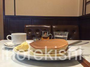 上野メガ盛りパンケーキ珈琲家珈琲屋特製ホットケーキダブルデカ盛りブレンドコーヒー東上野茅場町16