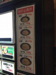 錦糸町油そば専門店春日亭ライスおかわり自由炙りとん黒チャレンジ特盛大盛り3