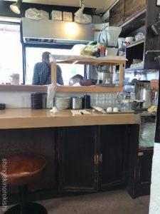 錦糸町カフェ喫茶店トミィパンケーキホットケーキコーン入りチーズバーグアイスコーヒー朝食メニューおやつデカ盛り進撃の歴史23