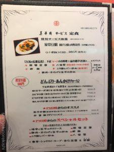 新橋白い担々麺美華園びかえん中華料理大盛りメニューデカ盛り進撃の歴史19