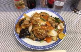 大盛りあんかけ焼きそば浅草橋中華料理水新菜館みずしんさいかん人気メニューデカ盛り進撃の歴史15