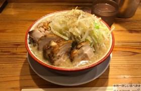 日本橋デカ盛りらーめんバリ男ばりおbario豚増しラーメン野菜ニンニクメガ盛り進撃のグルメ