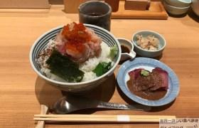 東京駅デカ盛り日本橋海鮮丼つじ半ぜいたく丼梅ご飯大盛りメニューメガ盛り進撃のグルメ
