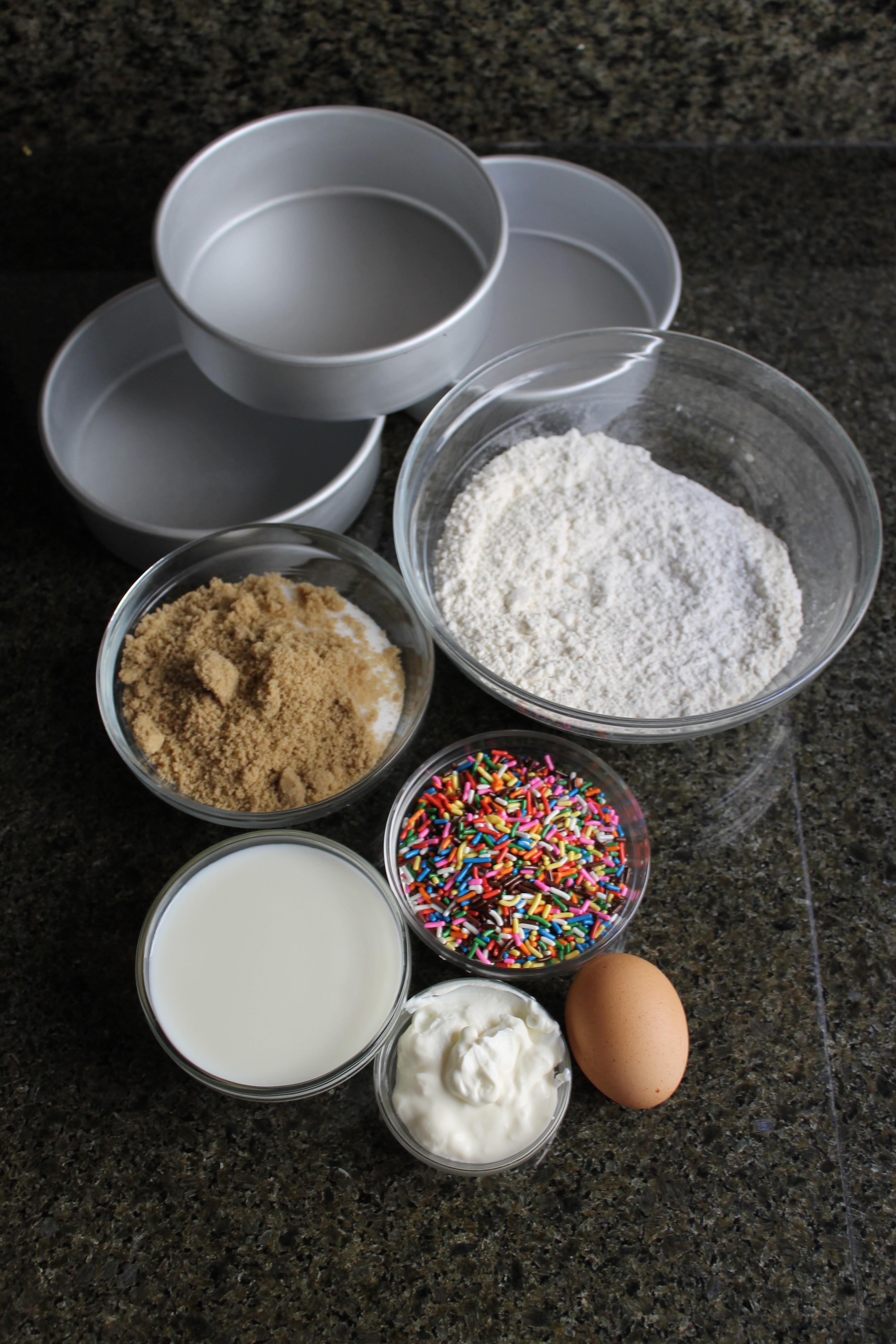 Whole Foods Funfetti Cake
