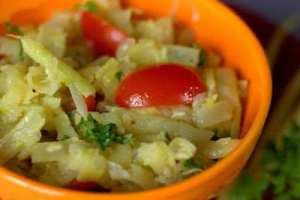 Yellow Wax Bean Salad | Salata de Fasole Galbena
