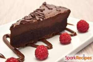 Marriage Proposal Chocolate Cheesecake