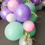 Create A Show Stopping Balloon Garland In 5 Easy Steps Food Flowers And Festivities