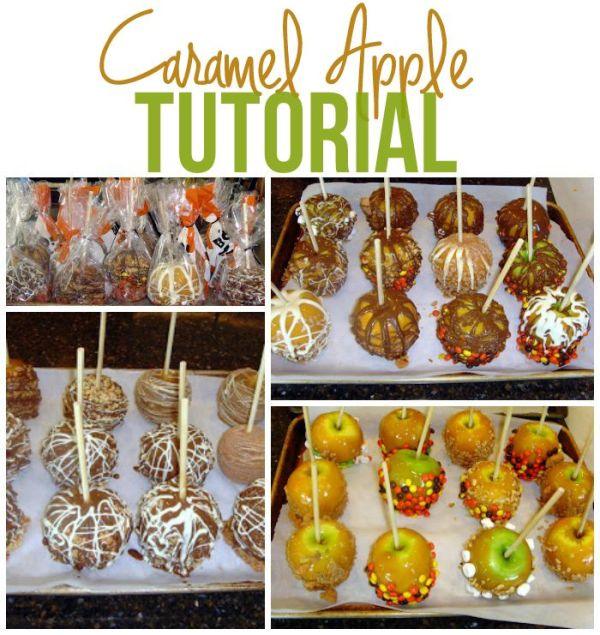 A step-by-step guide to making Caramel Apples at home. Come see how easy they are in this Caramel Apple Tutorial.