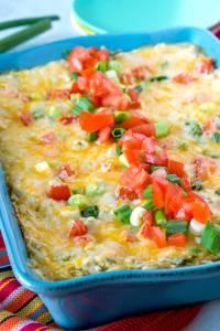 The best Green Chile Enchiladas!