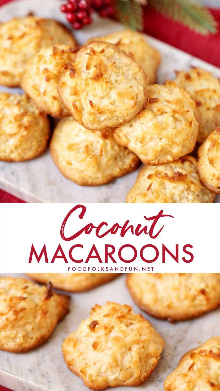 Best Coconut Macaroons