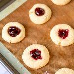 Step 6 - Jam Thumbprint Cookies