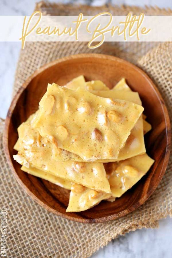 The perfect candy for gifting, peanut brittle!
