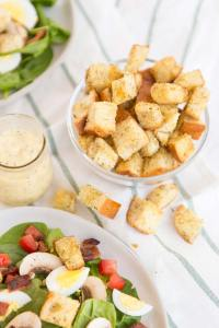 The best croutons for any salad recipe!