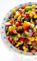 Zesty and fresh Black Bean and Corn Salad