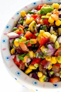 Mexican Corn Salad • Food, Folks and Fun