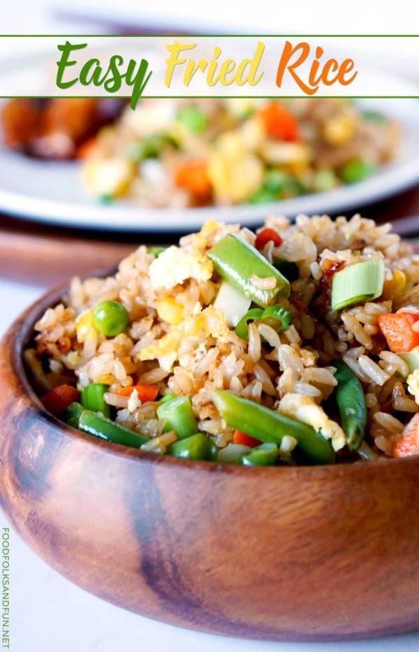 Homemade Fried Rice recipe