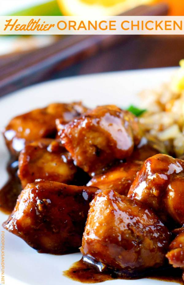 Your favorite Orange Chicken made healthier!