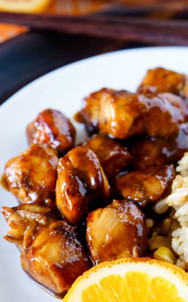 How to make the class Orange Chicken in a healthier way.