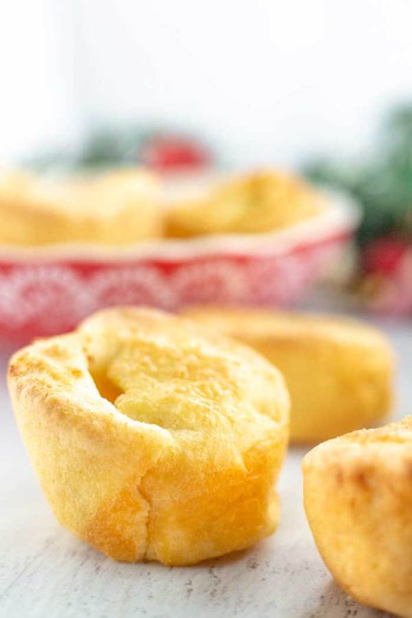 Yorkshire Pudding Made with Beef Drippings
