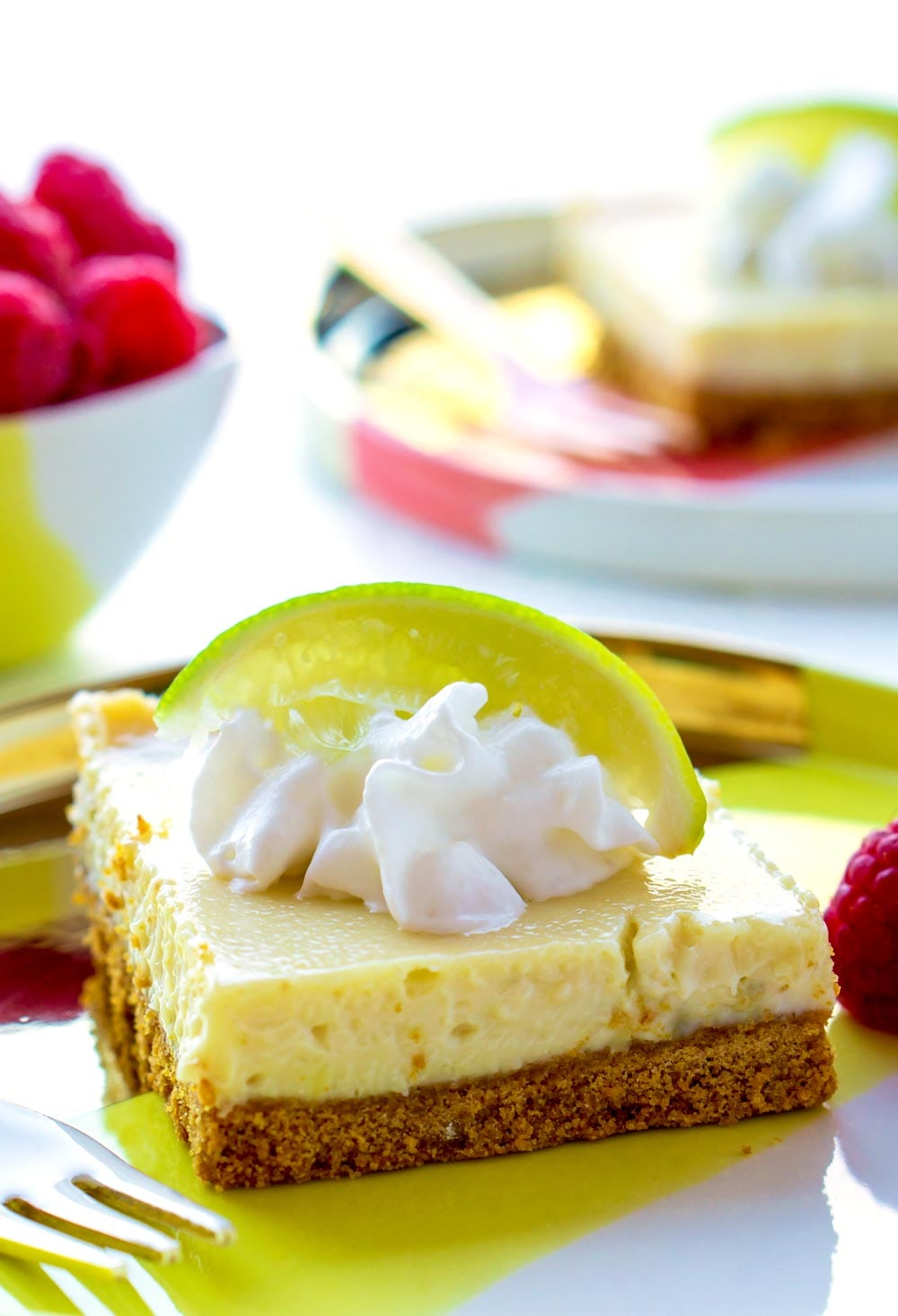 Delicious Key Lime Bars recipe.